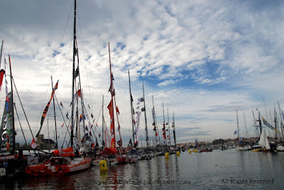"""17 skippers seront au départ de la """"New York-Vendée"""" fin mai."""