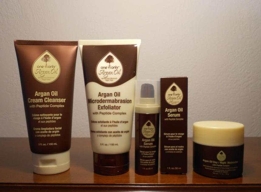 argan oil skin care line