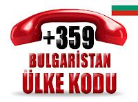 +359 Bulgaristan ülke telefon kodu