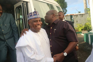 Northern Governors Arrive Abia State After IPOB Clash With Military. Photos