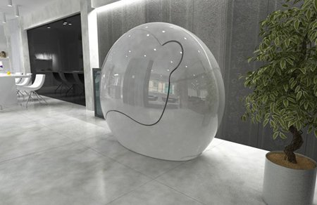 The Ovei Pod A Personal Cocoon In Various Forms From
