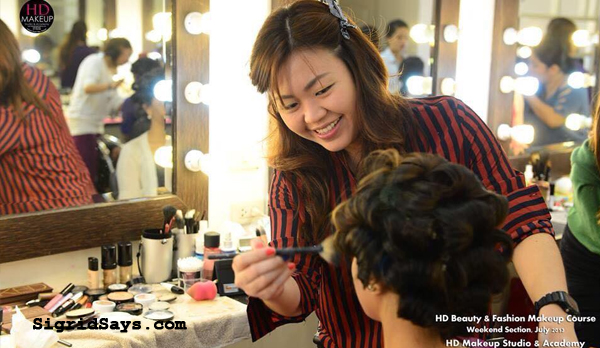 Bacolod hair and makeup artists - Kez pedroza