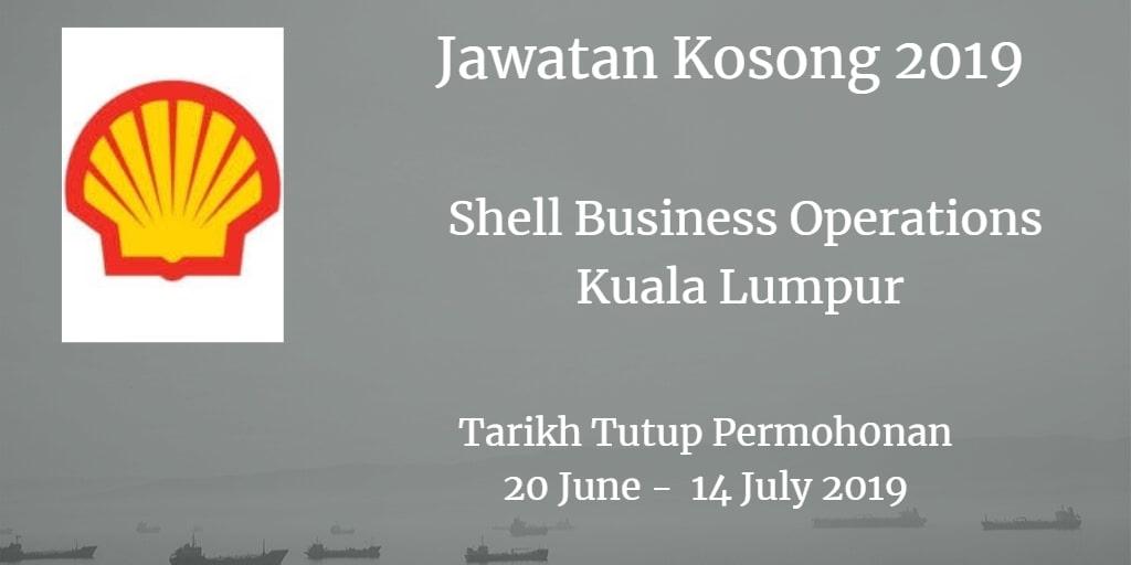 Jawatan Kosong Shell Business Operations Kuala Lumpur 20 June - 14 July 2019