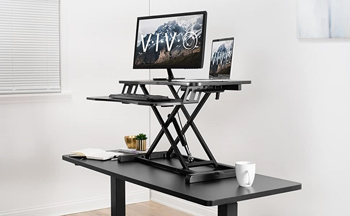 VIVO DESK-V000K Best Standing Desk Under $100