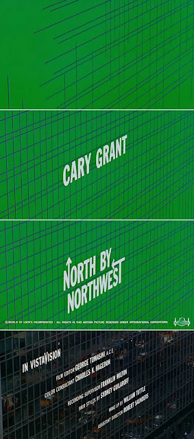 Title Sequence for North By Northwest, filmed at 430 Park Avenue at 56th Street, NYC, randommusings.filminspector.com