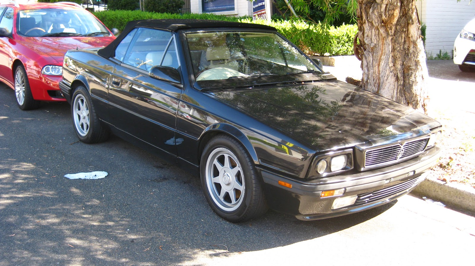 Aussie Old Parked Cars: 1992 Maserati Biturbo Spyder lll 2.8