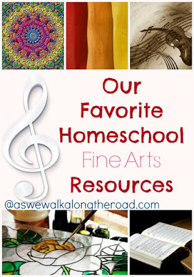 Homeschool fine arts resources