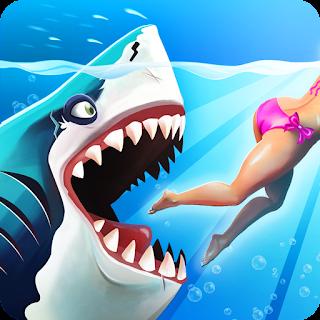 تحميل لعبة Hungry Shark World مهكرة للاندرويد