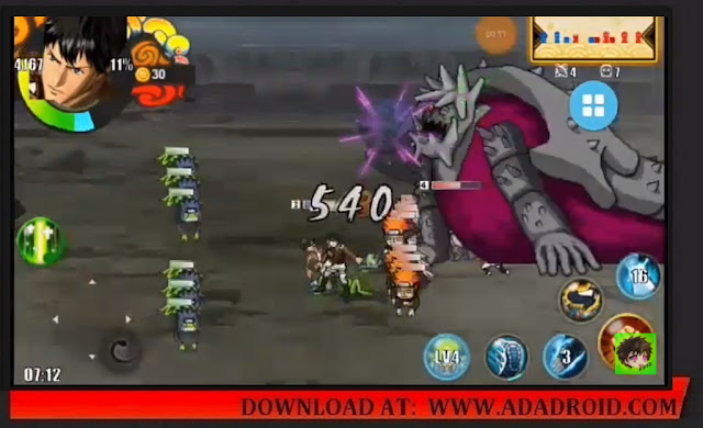 Download AODS Attack on Demon Senki Mod Apk