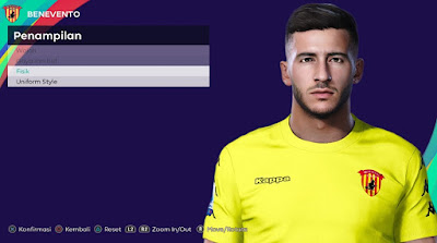 PES 2021 Faces Lorenzo Montipò by Rachmad ABs