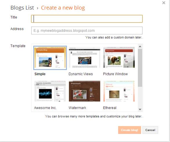 How To Create A Free Blog using Blogger? ~ PCGamesMACOS