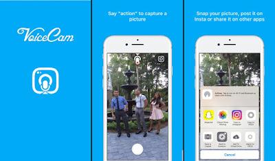 تحميل VoiceCam افضل تطبيق لأخذ صور السيلفي على الايفون