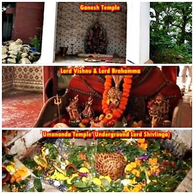 Lord Ganesha,  Lord Vishnu, Lord Brahamma & Lord Umananda (Shivalinga)