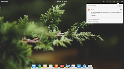 Notification Elementary OS Loki