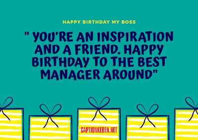 kartu ucapan selamat ulang tahun untuk bos bahasa inggris