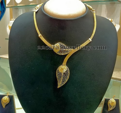 Modern Necklace For Teens Jewellery Designs