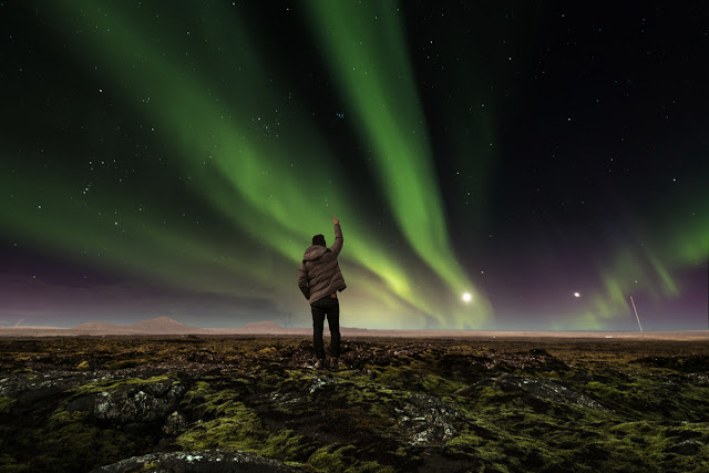 Iceland road trip advantages include the Northern Lights