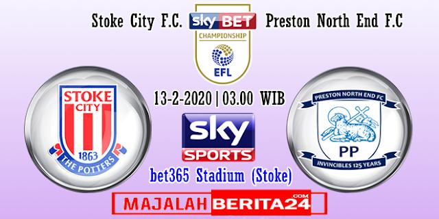 Prediksi Stoke City vs Preston North End