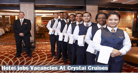 Crystal Cruises Careers Jobs Zippia