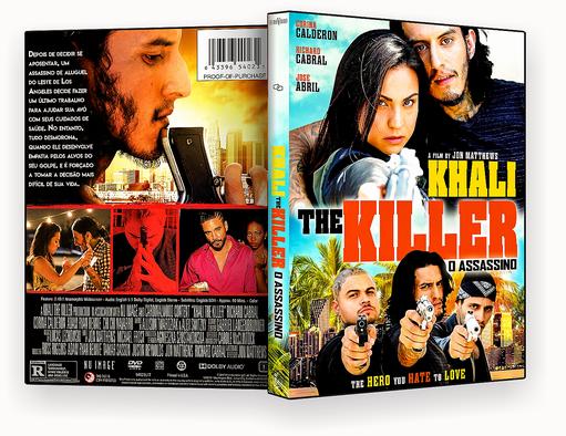 CAPA DVD – Khali The Killer O Assassino AUTORADO