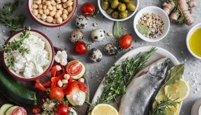pescado vegetales insaturadas aceite oliva integrales verduras legumbres frutas