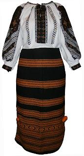 f8cc00d33eec80 Український жіночий національний костюм (борщівська вишиванка + гуцульські  запаски)