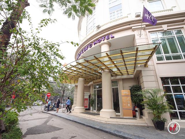 河內火車站旁的小旅館河內拉格爾美居酒店 - Mercure Hanoi la Gare