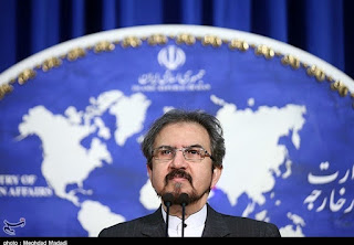 Le porte-parole des Affaires étrangères iraniennes, Bahram Ghassemi