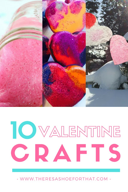 10 Valentine's Day Crafts for toddlers, little kids and moms #DIY #Craft #Valentine