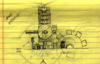 Diseño de uno de los puzzles de Myst
