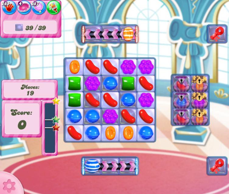 Candy Crush Saga level 2746