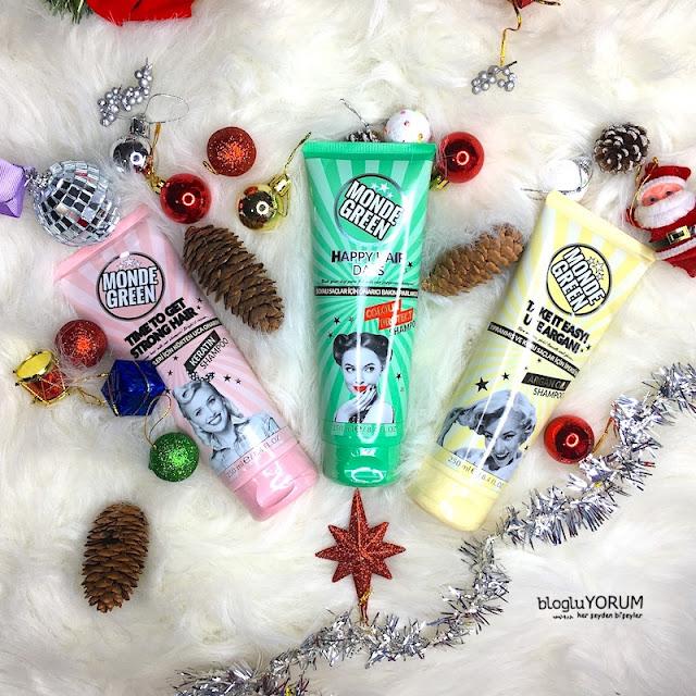 monde green şampuanları ineleyelim kreatin argan yağlı renk koruyuculu