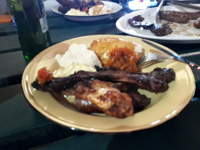 Lunch at Chaf Pozi -Soweto