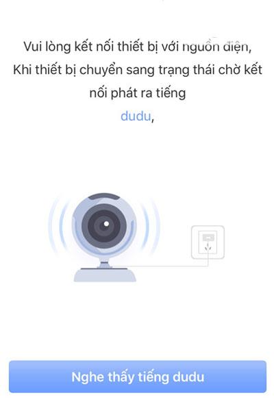 kết nối camera yoosee với điện thoại