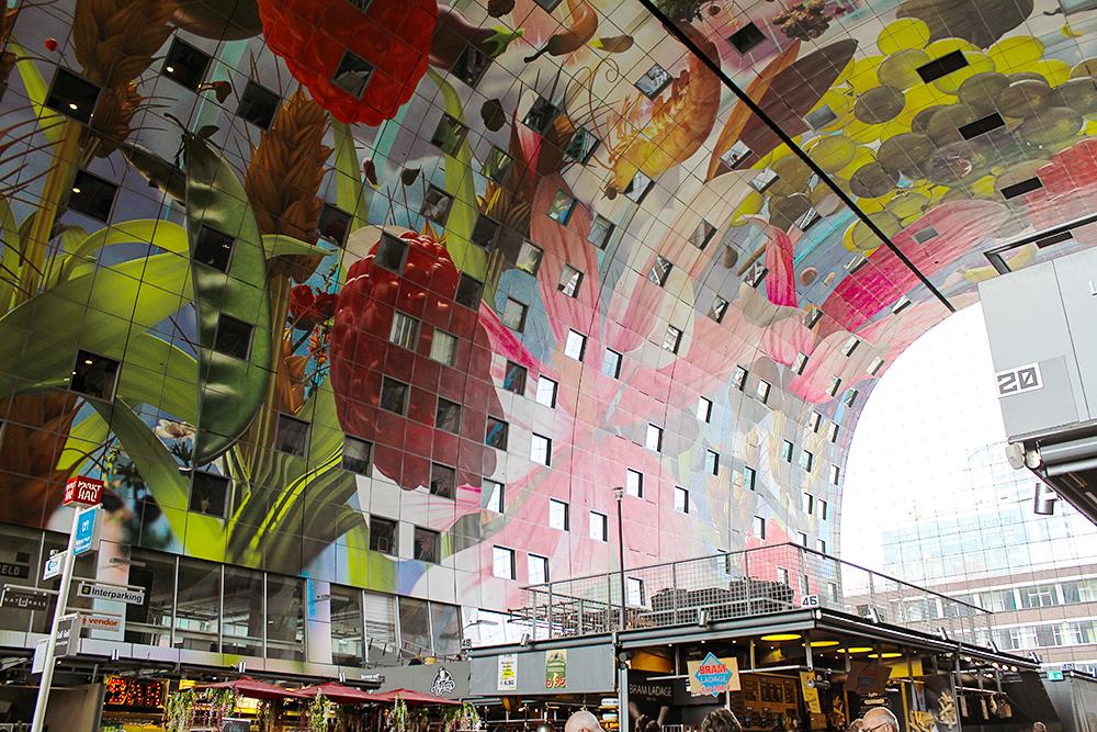 Rotterdam Markthal Markthalle