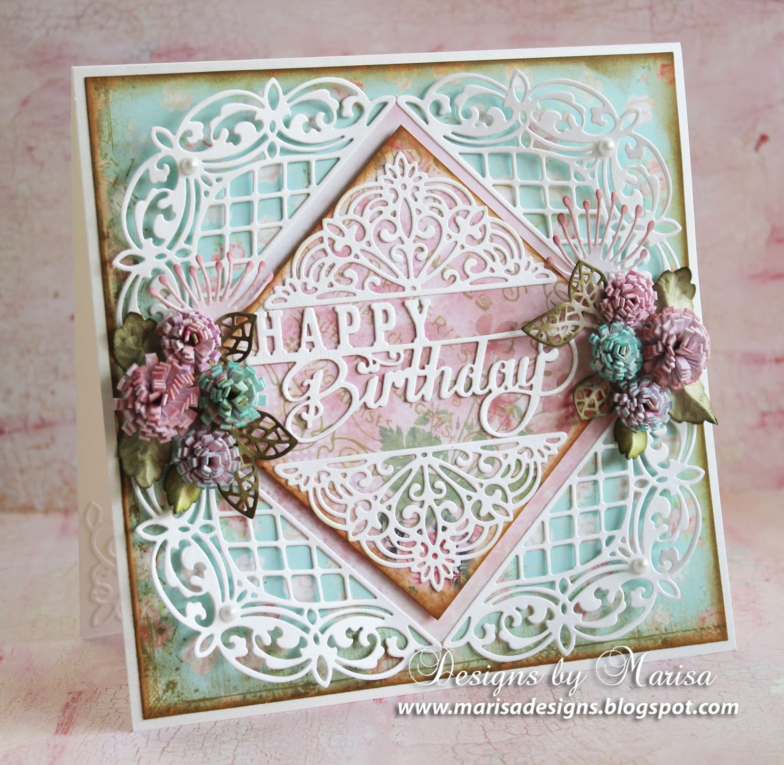 designs by marisa  happy birthday card