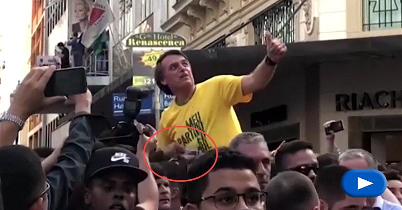 Μαχαίρωσαν Ακροδεξιό Υποψήφιο στη Βραζιλία - Jair Bolsonaro