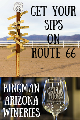 Cella Winery and Stetson Winery are two Arizona wineries in Kingman, Arizona off Route 66 and the start of a new wine country in Arizona.