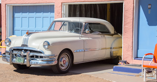 Route 66 Road Trip: The 1955 Pontiac Chieftain V8