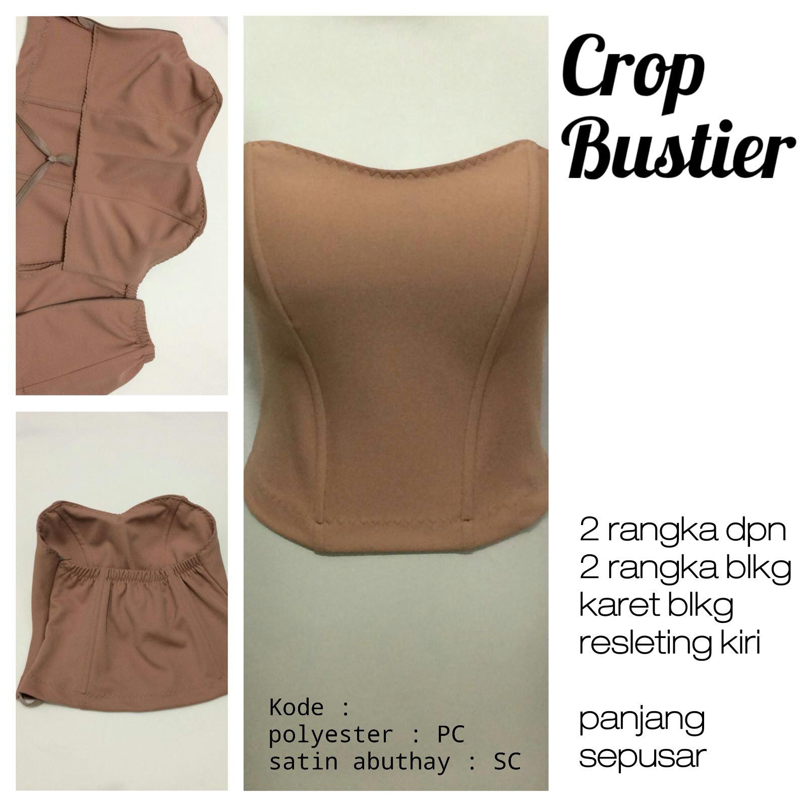 Bustier  bustier crop tulang 4 seperut 7867e18248
