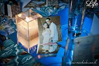 casamento com cerimônia na igreja nossa senhora do trabalho e recepção na oficina das festas em porto alegre com decoração simples organização e cerimonial por life eventos especiais