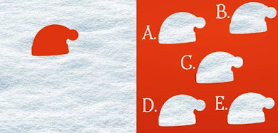 Figure: Delicious candy canes – can you find the right piece to complete this picture?