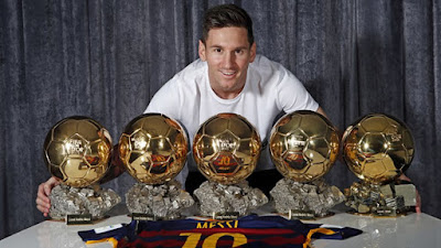 Messi Golden Ball Award