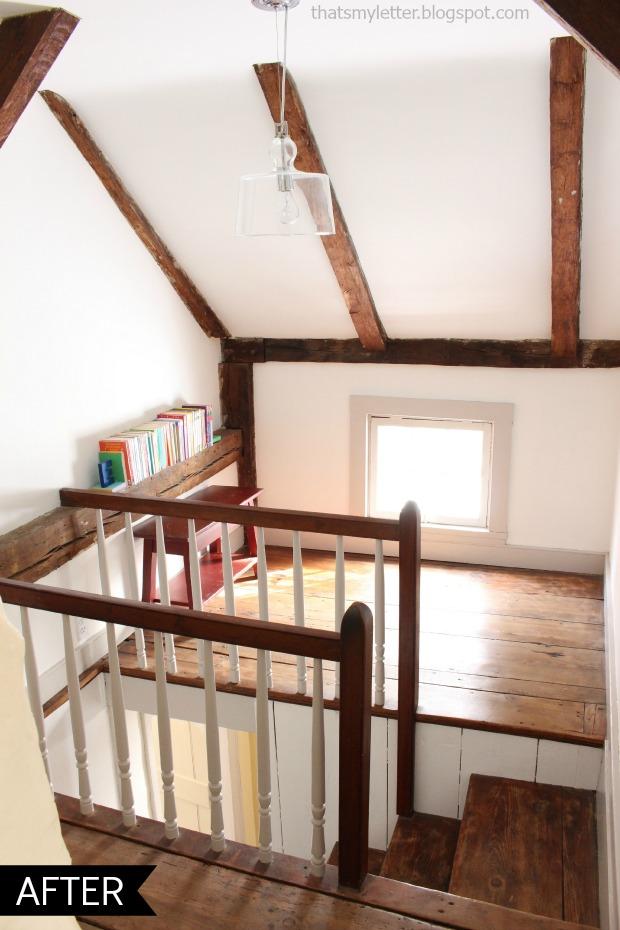 loft space after