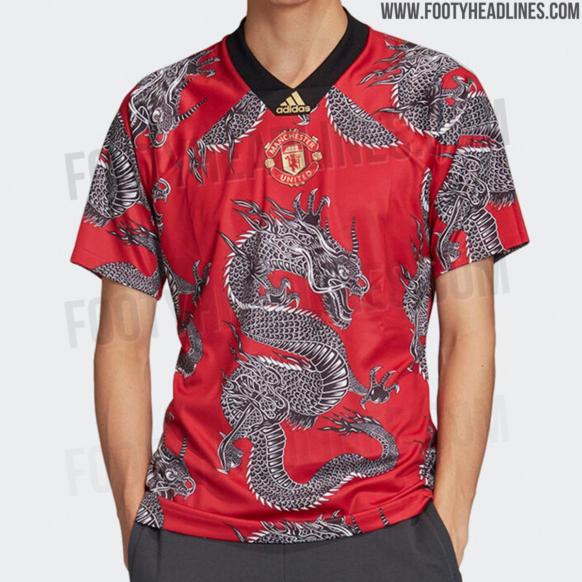 "Crazy ""Dragon"" Adidas Manchester United 2020 Chinese New ..."