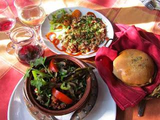 Bulgarian Dinner Mishmash Kavarma food Plovdiv bulgaria
