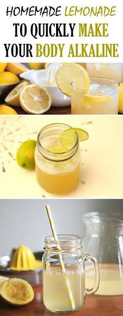 Homemade Lemonade To Quickly Make Your Body Alkaline