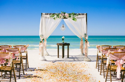 How to Plan a Romantic Beach Themed Wedding