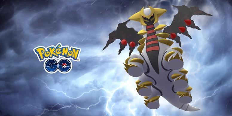Giratina Forma Alterada Pokémon GO
