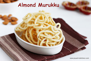Almond murukku